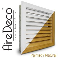 Luxury Wood Return Air Grilles