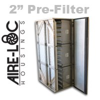 HEPA Bolt-Lock Housing 2 Inch Pre-Filter