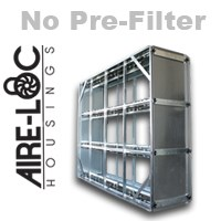 HEPA Crank-Lock Housing No Pre-Filter