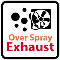 Over Spray Exhaust
