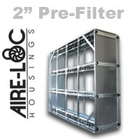 HEPA Crank-Lock Housing 2 Inch Pre-Filter