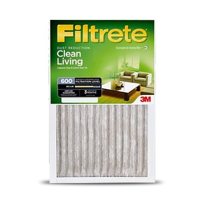 Filtrete 600 Merv 8 Dust and Pollen Reduction