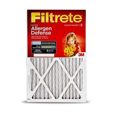 Filtrete 1000 Merv 11 Micro Allergen Reduction