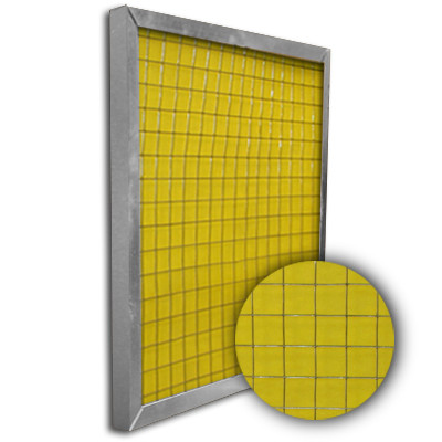 Titan-Frame Aluminum Pad Holding Frame w/Gate 16x25x1