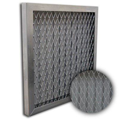 Titan-Flo Aluminum Frame Metal Screen Filter 14x25x1
