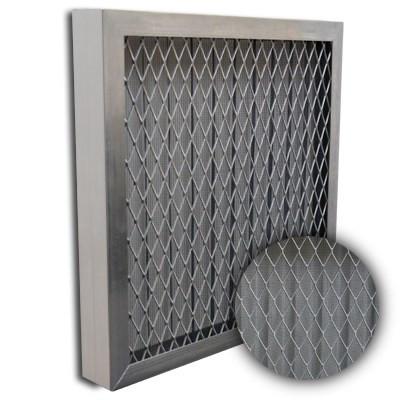 Titan-Flo Aluminum Frame Metal Screen Filter 16x25x2