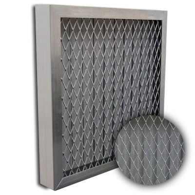 Titan-Flo Aluminum Frame Metal Screen Filter 25x25x2