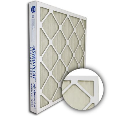 Astro-Allergen Anti-Microbial Merv 6 Expanded Metal Pleated 20x20x2