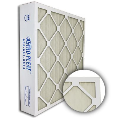 Astro-Allergen Anti-Microbial Merv 6 Expanded Metal Pleated 20x25x4