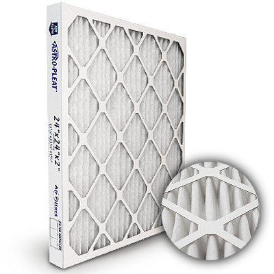 20x25x2 Astro-Pleat MERV 8 Standard Pleated High Capacity AC / Furnace Filter