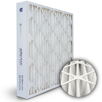 16x25x4 Astro-Pleat MERV 8 Standard Pleated High Capacity AC / Furnace Filter