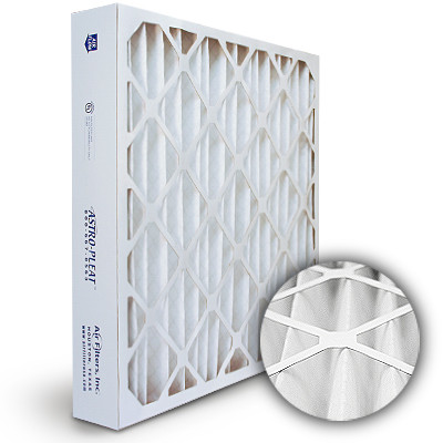 20x20x4 astro-pleat merv 8 standard pleated ac / furnace filter ...