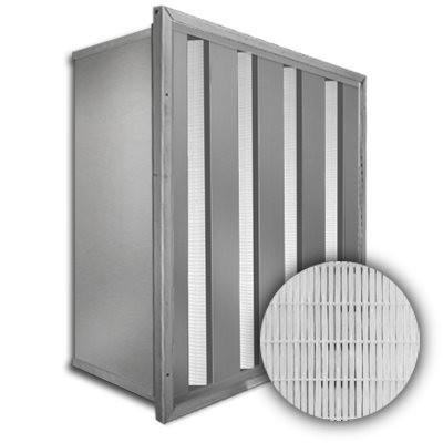 Sure-Cell Aluminum Frame 4 V-Cell ASHRAE 65% Single Header 24x24x12