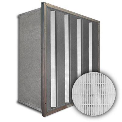 Sure-Cell Galvanized Frame 4 V-Cell ASHRAE 65% Single Header 20x24x12