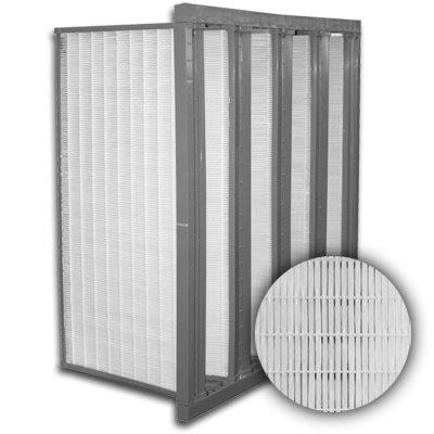 Sure-Cell Plastic Frame 4 V-Cell ASHRAE 95% Single Header 12x24x12