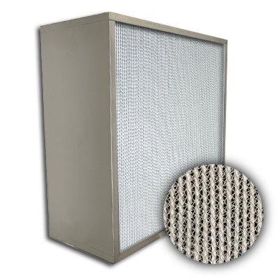 Puracel HT ASHRAE 95% 750 Degree Hi-Temp Box Filter 20x25x12