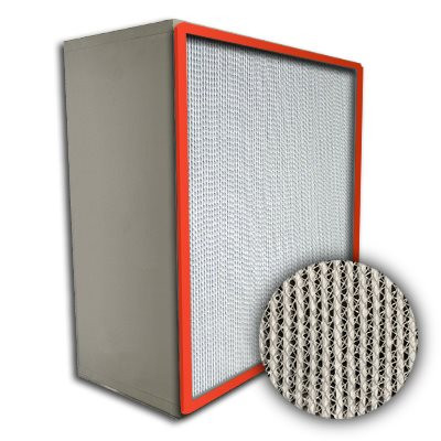 Puracel HT ASHRAE 85% 500 Degree Hi-Temp Box Filter Up-Stream Gasket 20x25x12