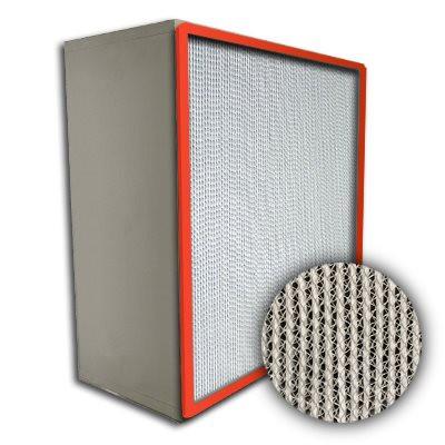 Puracel HT ASHRAE 85% 750 Degree Hi-Temp Box Filter Up-Stream Gasket 12x24x12