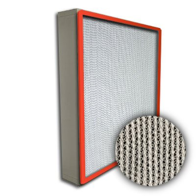Puracel HT ASHRAE 95% 500 Degree Hi-Temp Box Filter Up-Stream Gasket 20x25x4