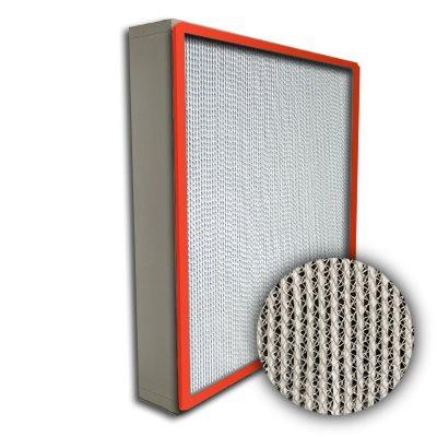 Puracel HT ASHRAE 95% 750 Degree Hi-Temp Box Filter Up-Stream Gasket 24x24x4