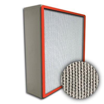 Puracel HT ASHRAE 95% 500 Degree Hi-Temp Box Filter Up-Stream Gasket 12x24x6