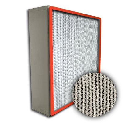 Puracel HT ASHRAE 85% 750 Degree Hi-Temp Box Filter Up-Stream Gasket 16x25x6