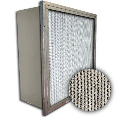 Puracel HT ASHRAE 95% 500 Degree Hi-Temp Box Filter w/Header 12x24x12