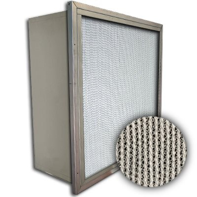 Puracel HT ASHRAE 95% 500 Degree Hi-Temp Box Filter w/Header 20x25x12