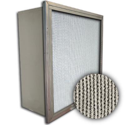 Puracel HT ASHRAE 95% 750 Degree Hi-Temp Box Filter w/Header 20x24x12