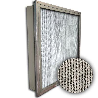 Puracel HT ASHRAE 95% 500 Degree Hi-Temp Box Filter w/Header 24x24x4