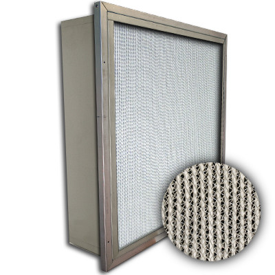 Puracel HT ASHRAE 85% 500 Degree Hi-Temp Box Filter w/Header 24x24x6