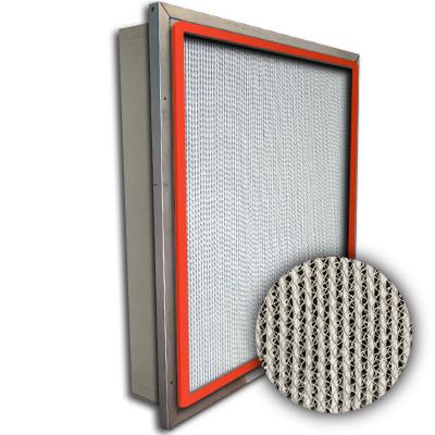 Puracel HT ASHRAE 95% 500 Degree Hi-Temp Box Filter w/Header Up-Stream Gasket 24x24x4