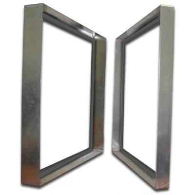 Titan-Frame Galvanized Bank Frame with Gasket 24x24x6