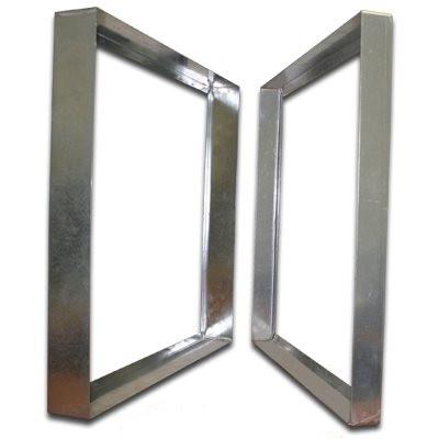 Titan-Frame Galvanized Bank Frame 12x24x6