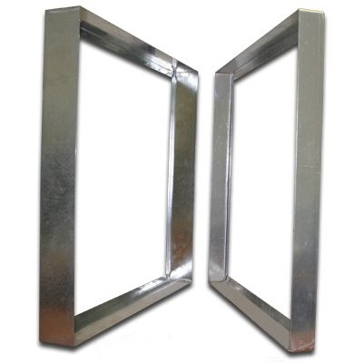 Titan-Frame Galvanized Bank Frame 24x24x3