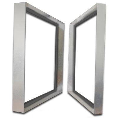 Titan-Frame Stainless Steel Bank Frame with Gasket 12x24x2