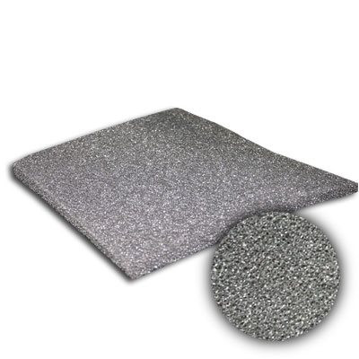 24x24x1/2 Sure-Fit 1/2-Inch Black Poly Foam