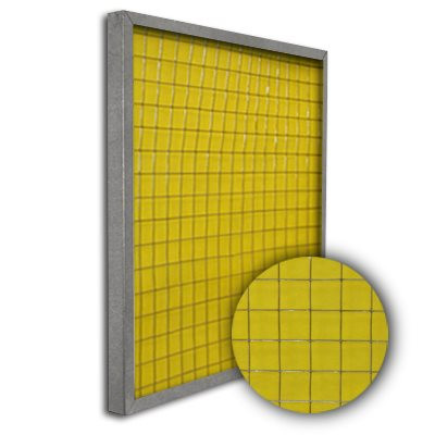 Titan-Frame Galvanized Pad Holding Frame w/Gate 16x25x1