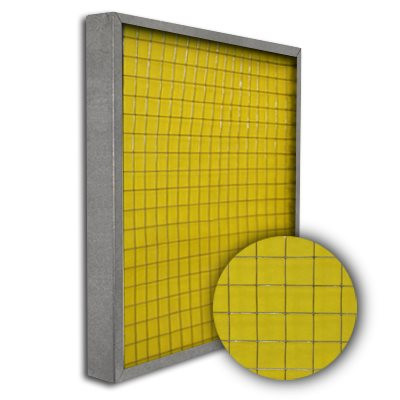 Titan-Frame Galvanized Pad Holding Frame w/Gate 20x25x2
