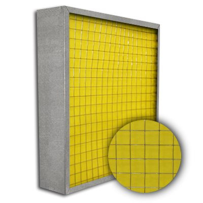 Titan-Frame Galvanized Pad Holding Frame w/Gate 20x20x4