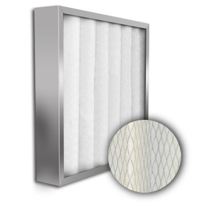 24x24x4 High-Flo MERV 7 (35%) Gas Turbine Filter Stainless Steel Frame (Pneumafill)