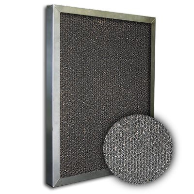 SureSorb Flocked Honeycomb Aluminum Carbon Filter 25x30x1