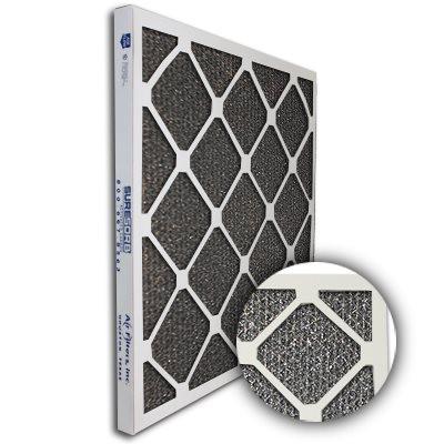SureSorb Flocked Honeycomb Die-Cut Carbon Filter 10x24x1