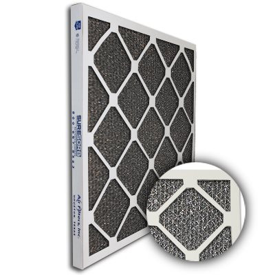 SureSorb Flocked Honeycomb Die-Cut Carbon Filter 22x22x1
