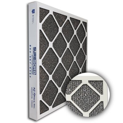 SureSorb Flocked Honeycomb Die-Cut Carbon Filter 24x24x2
