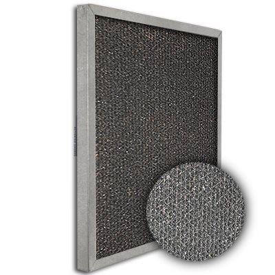 SureSorb Flocked Honeycomb Galvanized Carbon Filter 16x25x1