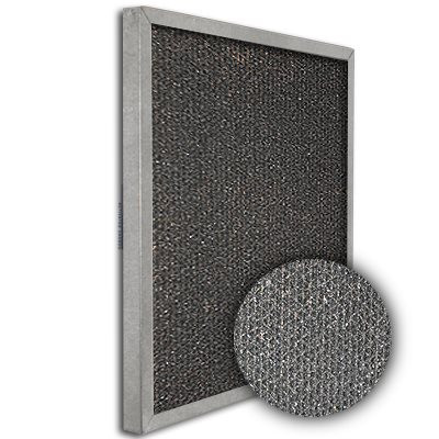 SureSorb Flocked Honeycomb Galvanized Carbon Filter 22x22x1