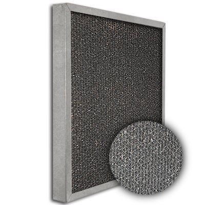 SureSorb Flocked Honeycomb Galvanized Carbon Filter 25x25x2