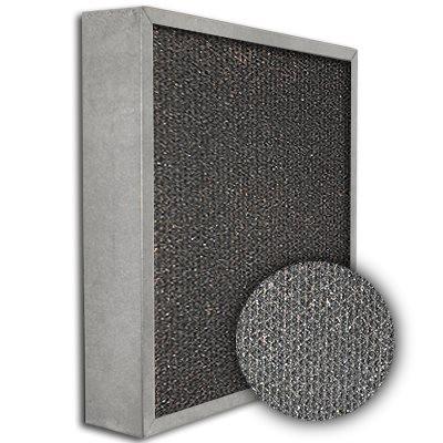 SureSorb Flocked Honeycomb Galvanized Carbon Filter 20x25x4