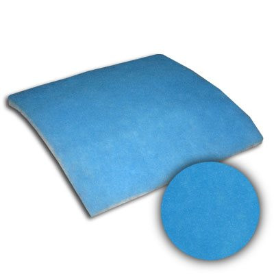 25x25x7/8 Sure-Fit Blue/White Dry Tackified 10oz Pad